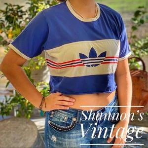 Adidas Originals women's large crop top. A27